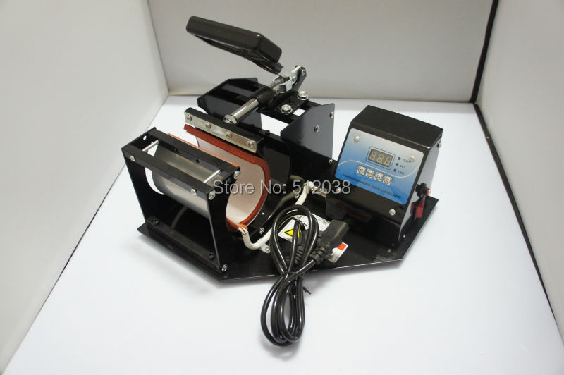 New  Digital Display Heat Press Transfer Sublimation Machine for Cup Coffee Mug  350W 110V/220V
