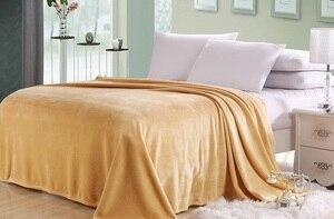 Image 3 - CAMMITEVER colcha Franela suave para sofá, cama, coche y oficina, manta de forro polar