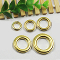 (200 Sets/Lot) Gold Grommet Eyelet Rings for Bags, Leather Craft DIY Bronze Metal Eyelets 20mm, 17mm, 14mm, 12mm, 10mm (Inside)