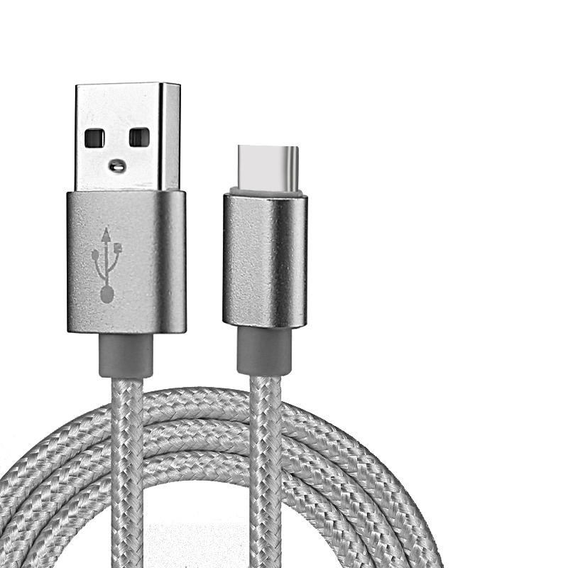 USB Type C Charger 1M 2M 3M Cable Durable Nylon Braided Cord Fast Charger Data Sync for Samsung Galaxy Note 8 S8 S8 Plus LG G6