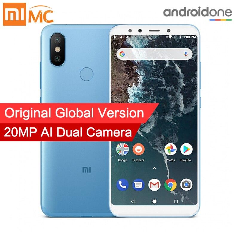 Global Version Xiaomi Mi A2 4GB 32GB Smartphone Snapdragon 660 Octa Core 20 0MP AI Dual