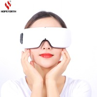 Eye Massager Air Pressure Eye Magnetic Far Infrared Heating Eye care Health Care Eye Myopia Prevention Bluetooth Music With USB
