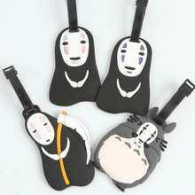 Totoro & No-Face Luggage Tag