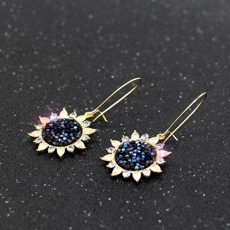 2019 New Korean Version Earings Stars Fashion Jewelry Trendy Earrings for Women in Drop Earrings from Jewelry Accessories