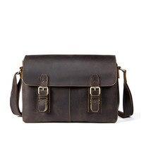 Мужская сумка портфель из натуральной кожи, мужская деловая сумка, винтажная Мужская офисная сумка, мужская сумка через плечо, сумка для ноу