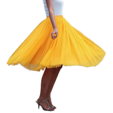 Winter Tutu Skirt Women Girls Princess Fluffy Pleated  Womens Jupe Femme Faldas Rokken Custom Made 7 Layers Tulle Skirts