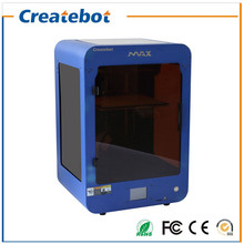 Imprimante 3D Precise Createbot Newest High Quality High Performance MAX 3D Printer with Double Nozzle, Heatbed and Touchscreen