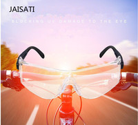 JAISATI Echte veiligheid bril Uv 99% goggles outdoor windscherm zand shock arbeidsbescherming oculair