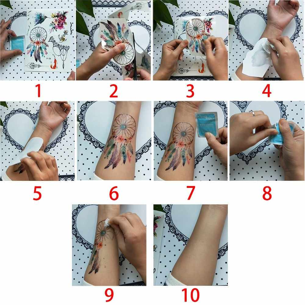 Glaryyears 1 시트 유방 허리 임시 문신 스티커 뜨거운 가짜 문신 플래시 문신 방수 섹시한 바디 아트 여성 여성 R-AL