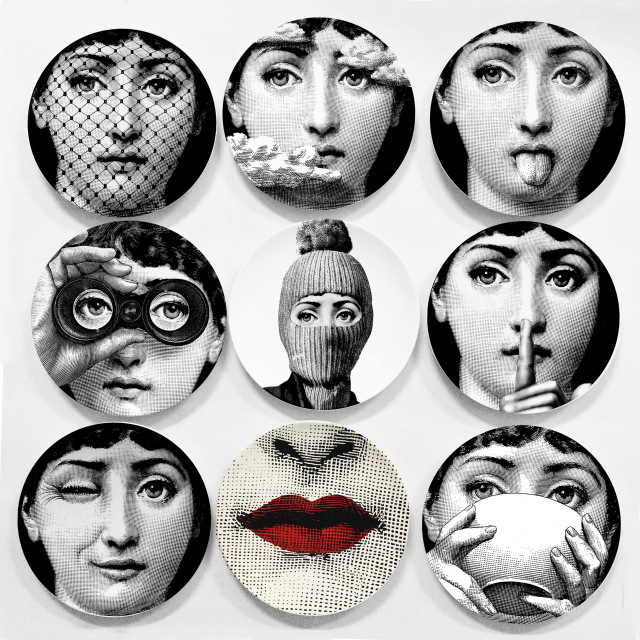 Hot-sale-Piero-Fornasetti-plates-beauty-