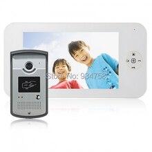 1V1 7 pulgadas TFT Color Digital LCD Monitor 1/3 CMOS cámara de visión nocturna sistema de teléfono