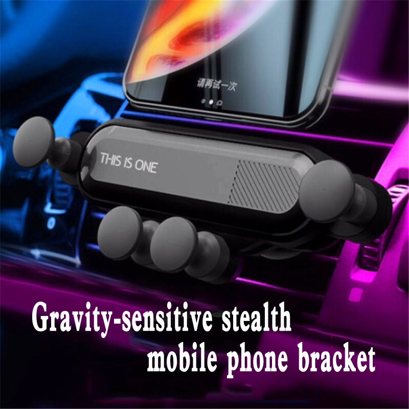 Universal Car Air Vent Mount Phone Holder For iphone XS Huawei Xiaomi Pocophone F1 GPS Gravity Induction Bracket