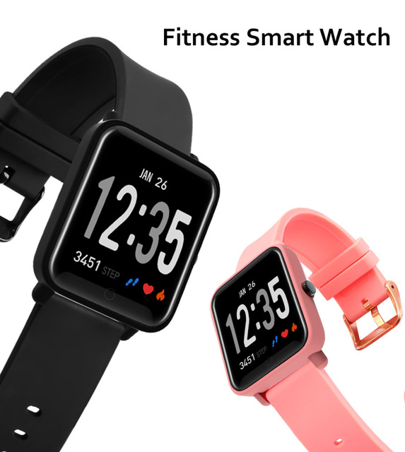 D010 sports smart bracelet IP68 waterproof heart rate blood pressure monitoring clock swimming watch for iphone 6 7 Android IOS