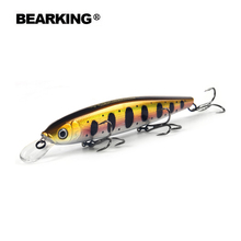 Bearking 13cm 25g Tungsten balls long casting New model fishing lures hard bait dive 1.3 – 2m quality professional minnow