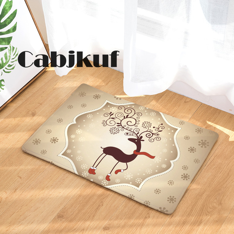 Doormat Carpets Christmas Blessing Creativity Print Mats Floor Kitchen Bathroom  Rugs 40X60or50x80cm In Mat From Home U0026 Garden On Aliexpress.com | Alibaba  ...
