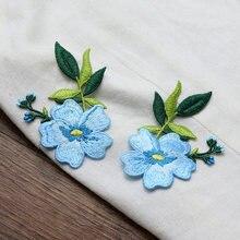 Yonney niex – patchs floraux brodés en dentelle, nouvelle collection, bon marché mais de haute qualité, Patch à coudre