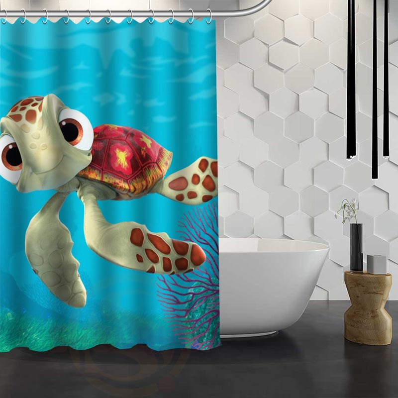 Finding Nemo Shower Curtain Pattern Customized Shower Curtain Bathroom Fabric For Bathroom Decor Hsq326022v China
