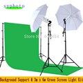Tax Free A Rusia Nuevo Photo Studio Accesorios Soporte de Fondo y 3 m x 6 m Kit de Pantalla de Luz Verde Iluminación fotográfica