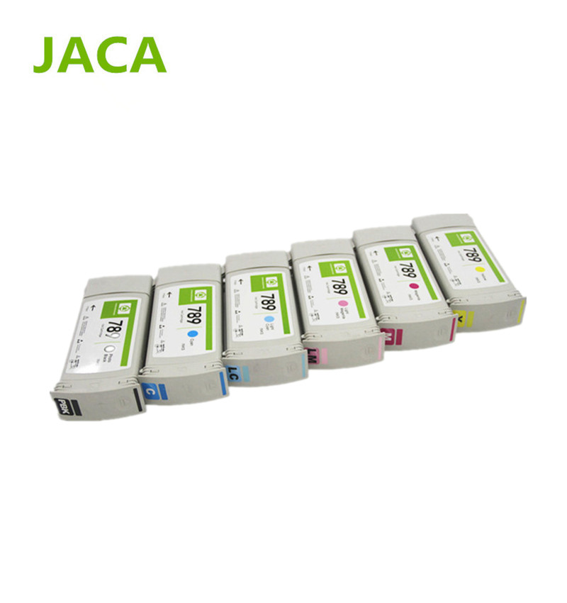 6PCS/Lot 775ML Remanufactured Ink Cartridge For HP L25500 printer Full cartridge with Latex 789 ink cartridge 6 colors high quality 789 1000ml latex ink for hp l25500 printer inkjet made in china market