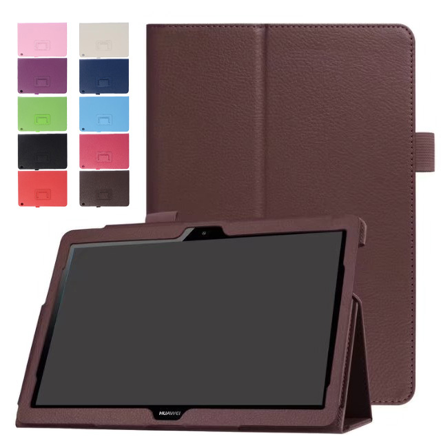 Colorful Case For Huawei MediaPad T3 10 AGS-L09 AGS-W09 9.6 Inch Cover Funda Tablet PU Leather Case For Honor Play Pad 2 9.6