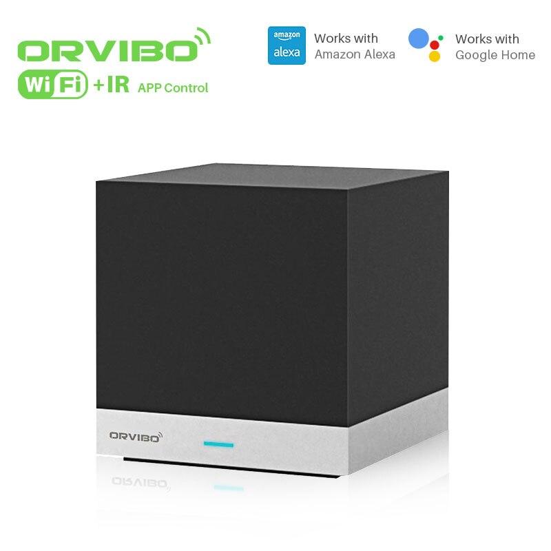 Orvibo cubo mágico universal controlador inteligente com função de aprendizagem wi fi ir controle remoto sem fio automação residencial inteligente