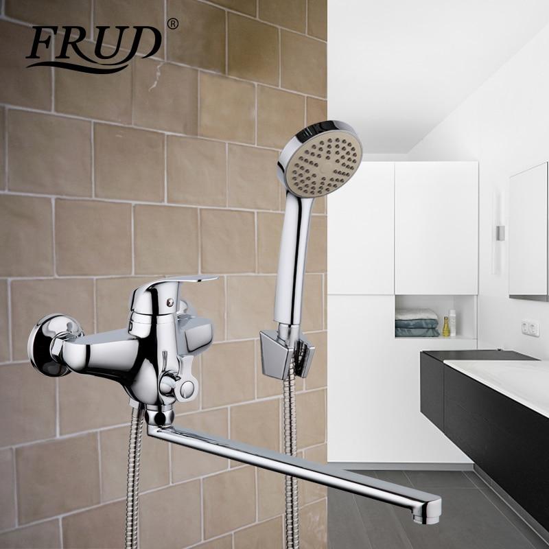 Frud 1 satz wandmontage wasserhahn badezimmer halterung wasserfall ...