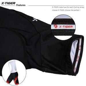 Image 5 - X TIGER 8 Colors Cycling Bib Shorts Summer Coolmax 5D Gel Pad Bike Tights MTB Ropa Ciclismo Moisture Wicking Bicycle Pants
