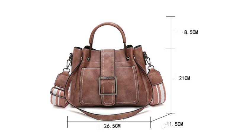New European and American style vintage PU women handbag shoulder bag messenger bag 72