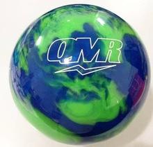 Green branded women professional bowling ball