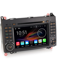 Android 7.1 Autoradio Wifi Bluetooth GPS DAB+ DVD CD Car Radio for Mercedes Benz A Class W169 B Class W245 Sprinter Viano Vito