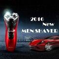 Máquina de Afeitar eléctrica máquina de Afeitar Recargable Mens 3 Cabezal de Cuchillas de Afeitar de Afeitar Máquina de Afeitar Herramientas de Cuidado de La Cara