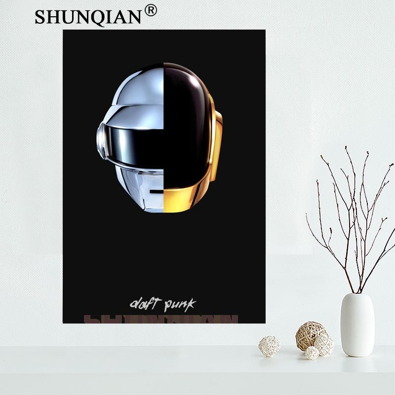 40x60cm Custom DAFT PUNK POSTER COLUMBIA Music Bangalter Christo Random Access Memories Canvas Poster
