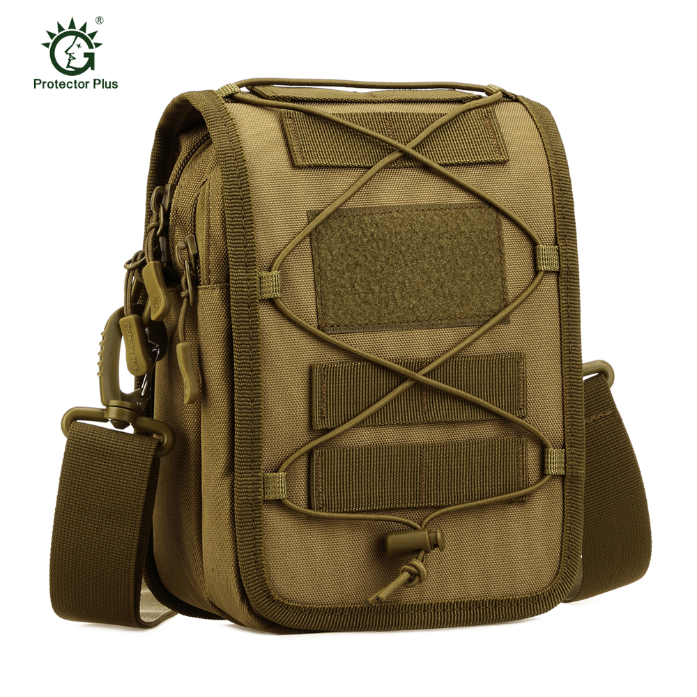 Military Tactical Messenger Bag Shoulder Nylon Outdoor Fishing Camping Travelling Gear Mutil-function Molle Waist Utility Pouch