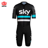 2016 team Pro skinsuit cycling clothing breathable short sleeve jersey quick-dry mountain bike clothes sportswear free shipping