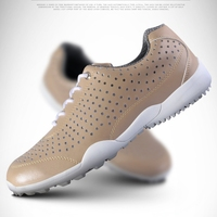Brand PGM Mesh Holes Summer Man Golf Sports Hole Shoes Comfort Designer MENS Breathable Holes Shoes