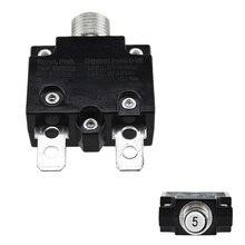 Przeciążeniowe zabezpieczenie termiczne przełącznik przyciskowy Mini termiczna PRZERYWACZ 5A/10A/15A/20A/30A