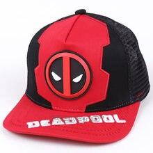 Marvel Deadpool gorra de béisbol Snapback 2018 moda verano nuevo Hip Hop  gorras sombreros para hombres y mujeres dbab6bbdb84