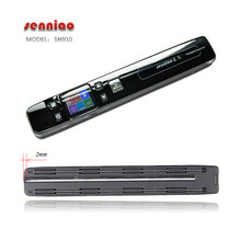 portable scanner senniao sn910 Zero margin book Double roller preview lithium battery HD A3 Automatic synthesis large image