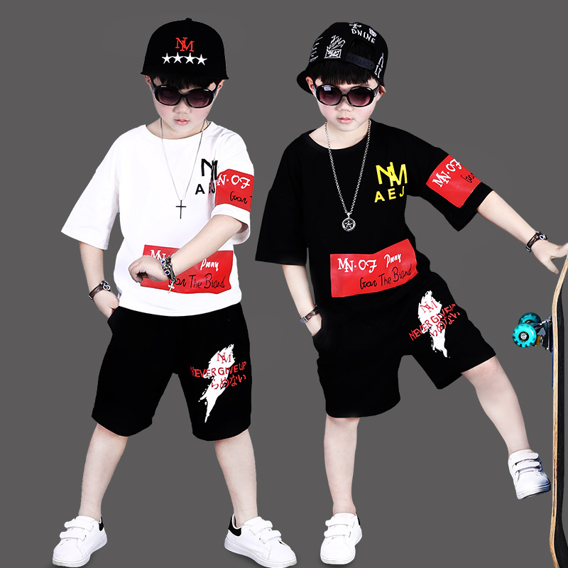 2018 Summer Kids Clothes Set For Boy Casual Children Clothes Sets 2-7 10 Years Toddler Boys Clothing Set Summer Baby Suit Short spring kid boys girls print sweater with hat children casual clothing 2016 children s sets summer kids baby boy clothes 2987