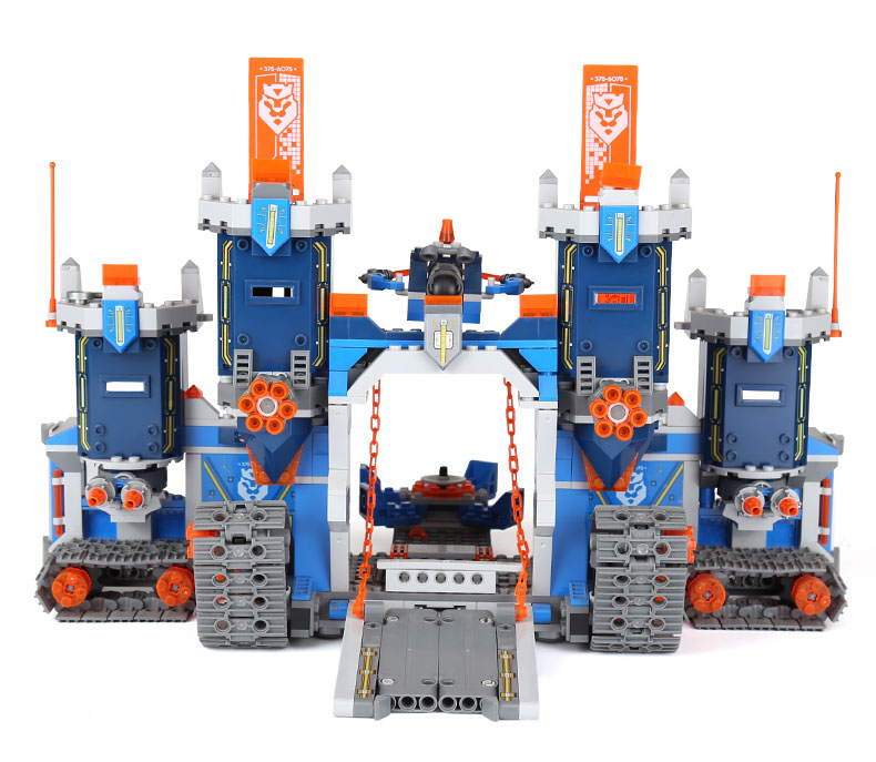 14006 Future Elements Knights Mechanical Mobile Fortress Building Block Toys Compatible with legoings 70317 Toys Children Gifts14006 Future Elements Knights Mechanical Mobile Fortress Building Block Toys Compatible with legoings 70317 Toys Children Gifts