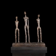 Nouveau art  abstract figurines Outdoor Decor Bronze Crafts