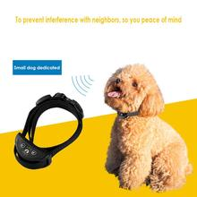 Bark Collar Adjustable Shock Static Dog Bark Stop Collar No Barking Collar Dog Training Collar System For Small Or Medium Dogs цена