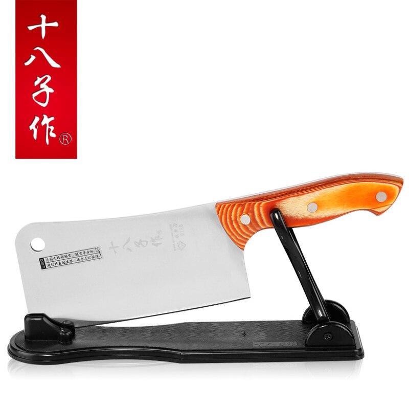 Yeungkong to make bamboo chop bone font b knife b font s1022 a senior stainless steel