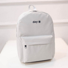 Day and night Backpacks Bagpack Men Women School Bag For Teenagers Girl Boy Lovers Student Book Bag ZTBBAO Back pack
