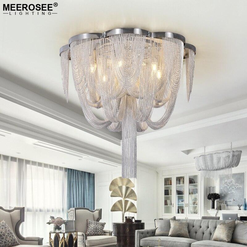 Alluminio moderno Lampadario Light Fixture Tessal Chian Post Goccia Hanging Lustre Lampada per sala Da Pranzo Dell'hotel Ristorante