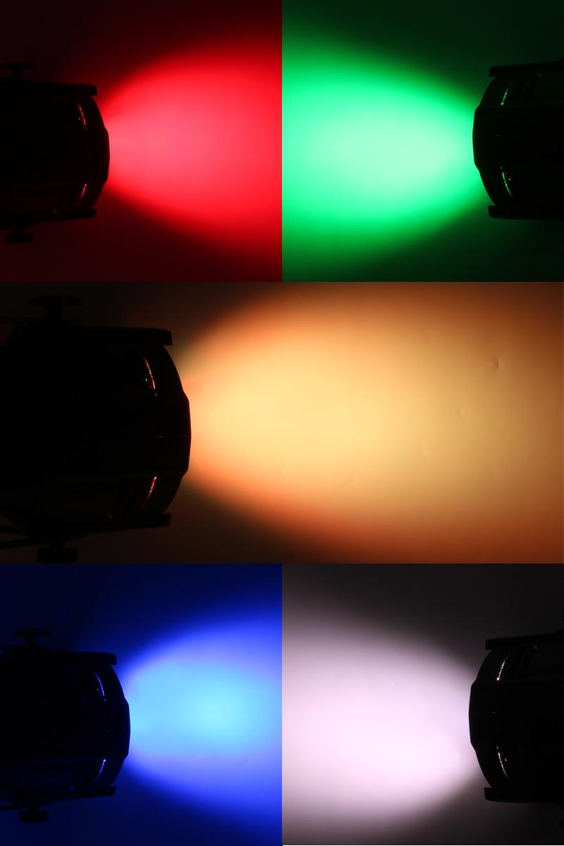 w luzes rgbwa + uv 6in1 led