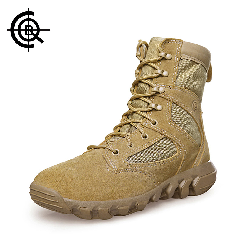CQB Outdoor Combat Shoes Men  Lightweight Trekking Hiking Boots Wear-resisting Hunting Climbing Boots SL0235 humtto new hiking shoes men outdoor mountain climbing trekking shoes fur strong grip rubber sole male sneakers plus size