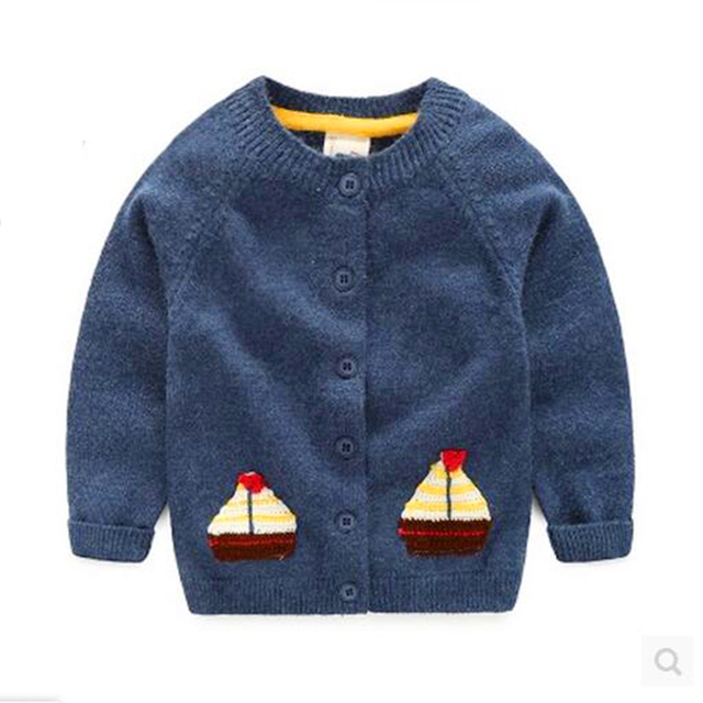Baby Cardigan Coat Sweater Newborn Jacket Infant Toddler Capes Casaco Infantil Soft Cotton Padded Jacket Outerwear Coat 50D025