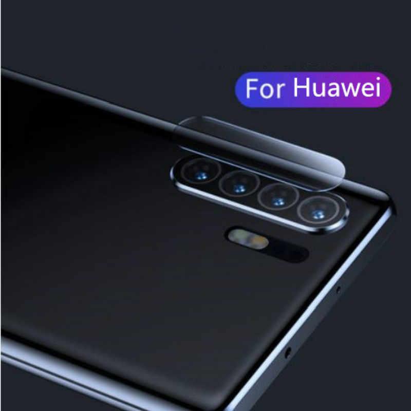 バックカメラレンズガラスカバー Huawei 社 Y5 Y6 Y7 プライム 2018 Y7 Y9 プロ 1080p スマート 2019 P30 P20 メイト 20 プロ Lite ノヴァ 3i 4E レンズフィルム