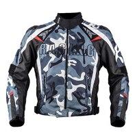 Duhan motorbike racing jacket black blue Camo Serving Jersey Camouflage King of Jungle Motorcycle Jacket super security clothing